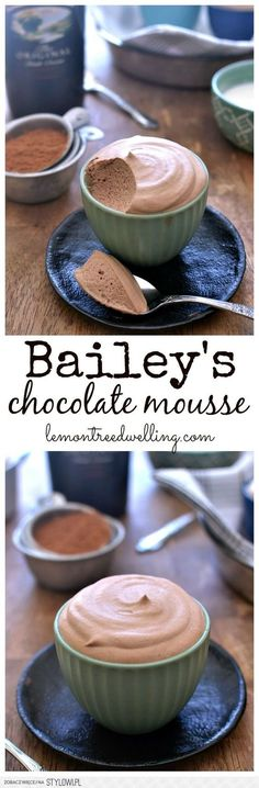 Bailey's Chocolate Mousse Recipe | Buzz Inspired na Stylowi.pl