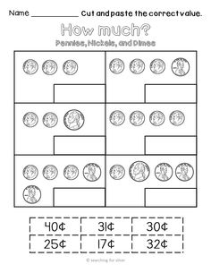 money worksheets coin identification worksheets and poster dana 39 s wonderland tpt products. Black Bedroom Furniture Sets. Home Design Ideas