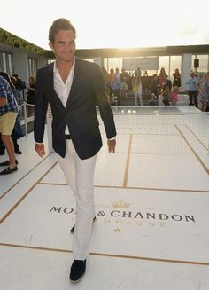 Roger Federer (Moët & Chandon) - Miami, 2014