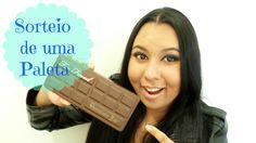 *SORTEIO- Paleta Chocolate Bar