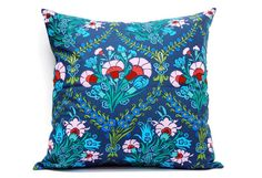 Gift idea Amy Flower Cushion cover Pillow 18x18 inch envelope by @LilachOren, $25.00