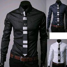 Mens Designer Stripes Dress Shirts S2 | The Brothers Cut