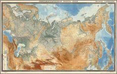 David Rumsey Historical Map Collection | Gipsometricheskaia karta SSSR