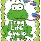 Life cycle of a frog    1.lifecycle poster  2.flip book  3. amphibian vs reptile facts and venn diagram  4. lable a frog  ...