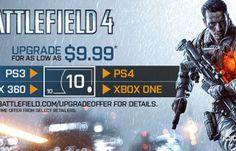 Certas cópias de Battlefield 4 virão com cupom de desconto para versão next-gen