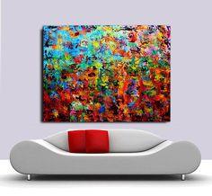 Original Abstract Painting oil Painting on Canvas door Perfectartvio