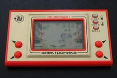 Vintage 1981 Nintendo Mickey Mouse Game And Watch Wide Screen Hand Held Game Model Number Great Working Condition! Retro 1, Retro Toys, Mickey Mouse Games, Vintage Games, Retro Games, Game & Watch, Childhood Memories, Bratislava, Nintendo