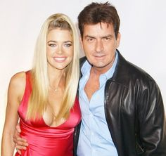 """Denise Richards Files New Lawsuit Against Charlie Sheen, Claims He Threatened Her and Her Kids' Lives: Details - USMagazine.com - January 22nd, 2016 Denise Richards and Charlie Sheen """"The Two and a Half Men alum told TMZ that the lawsuit was """"a desperate attempt to get more money"""" after his lawyer claimed Sheen has already paid almost $20 million to Richards over the years; the couple were married from 2002 to 2006."""""""