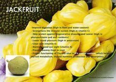 Health Benefits of Jackfruit Infographic #nutrition #body #food #fruit