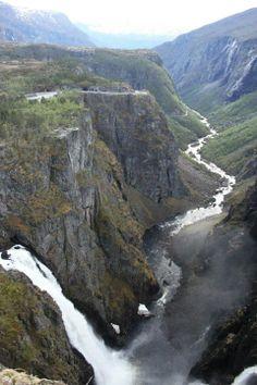 Vøringfoss, 182 m Norway