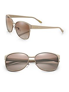 Givenchy - Metal Oversized Round Sunglasses
