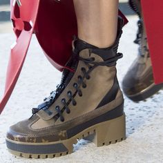 Boots from the #LouisVuitton #LVCruise Show by @nicolasghesquiereofficial presented in #LVPalmSprings