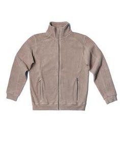men's organic cotton fleece jacket . men's organic cotton l-s shirt