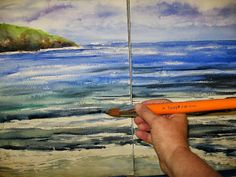 Annie Strack news: Step by Step: How to Paint a Beach Triptych with Watercolor!