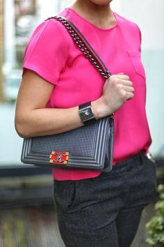 W1 blog - love the Chanel bag
