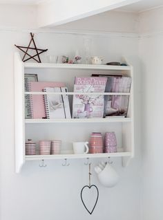 This would be cute above Miss M's play table    Stenstorp Plate Shelf ~ Ikea