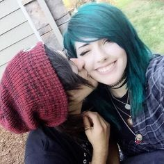 Leda and her new boyfriend, Braden (better known from his music project, SayWeCanFly)