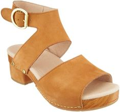 7222cb3c52a Dansko Leather Heeled Sandals - Minka