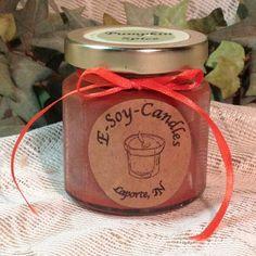 Pumpkin Spice 4 oz Soy Candle