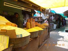 """""""T.K.Market""""  in Bazaar street of Coimbatore."""