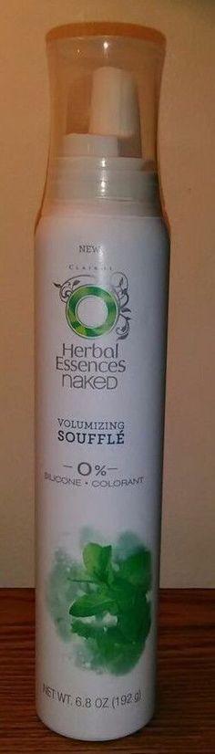 Herbal Essences Naked Volumizing Souffle 6.80 oz (x2) #HerbalEssences