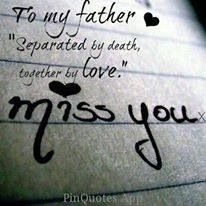 I miss my dad!