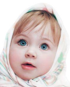 Que olhos lindos essa criança tem