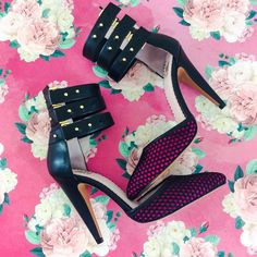 D'Orsay Pumps Leather Cuff Heels Sandals Sz 9 NEW 🎁 Bundle Up For a FREE Swag Bag 🎁  Brand new in box M Missoni black & fuchsia Sexy Leather cuffed d'orsay style pumps, heels, sandals, Triple strap ankle buckle cuff & mesh detail. true to size.   🐚15% off Bundles of 2or more items 🐚No Trades 🐚PM Transactions ONLY 🐚No Lowball Offers Missoni Shoes Sandals