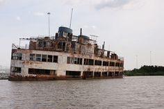 Ghost ferry on the Patapsco river.