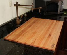 Wood Kitchen Sink Covers For Twin Sink Or By Creeksidecountry