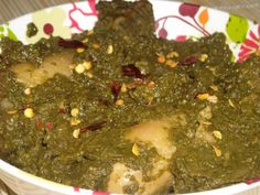 My Kitchen's Aroma: Saag Murg (Chicken in a spinach puree)