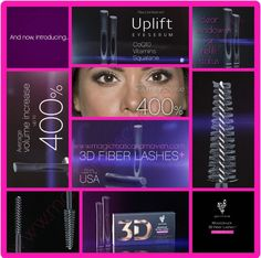 Introducing Younique's 3D Fiber Lash Mascara Plus! Who says you can't improve on perfection? Check it out, you won't be disappointed! www.3dmichelle.com