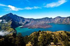 Alamat dan Biaya Pendakian Gunung Rinjani Lombok, Pesona Keindahan Alam Indonesia