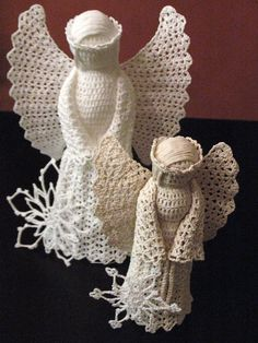 Crochet Tree Top Angels Patterns | Here's a Christmas gift idea worth passing along:
