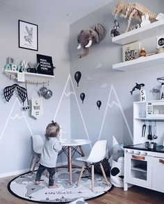 A cute kid's room