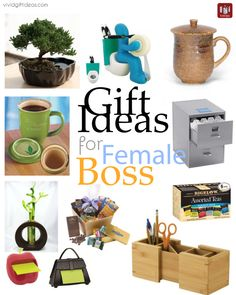 Gifts for boss - female or male.