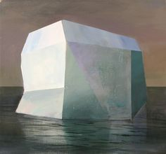 Faceted Iceberg (original) by Jeremy Miranda $500