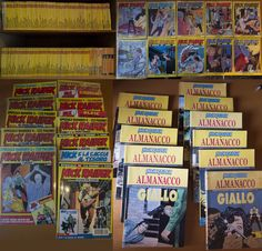 VENDO: Nick Raider collezione completa + almanacchi del giallo 93-2003 + speciali 1-10