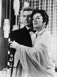 One of today's b'day celebrants Roger Smith and his on film 'Antie Mame' Rosalind Russell in the 1958 classic comedy Auntie Mame -- Roger played Roz's nephew Patrick (when he grew up)