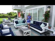 Interior designer Libby Langdon shows off her Ridgewood collection at this years Hampton Designer Showhouse.