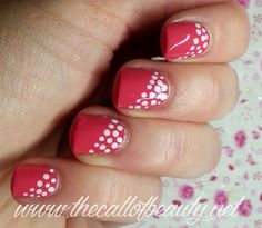 The Call of Beauty: Nail Art Tutorial: come si fa una dotticure
