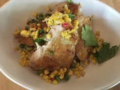 True Food Kitchen pan roasted chicken
