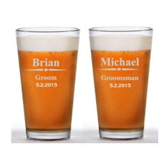 Personalized Beer Mug Groomsman Beer Glass Personalized Groomsman Beer... (1315 RSD) ❤ liked on Polyvore featuring home, kitchen & dining, drinkware, grey, home & living, personalized drinkware, engraved beer glass, personalized pub glasses, personalized beer glass and beer-glass Engraved Beer Glass, Beer Caddy, Personalized Beer Mugs, Photo Proof, Gifts For Wedding Party, Groomsman Gifts, Groomsmen, Drinkware, Glass