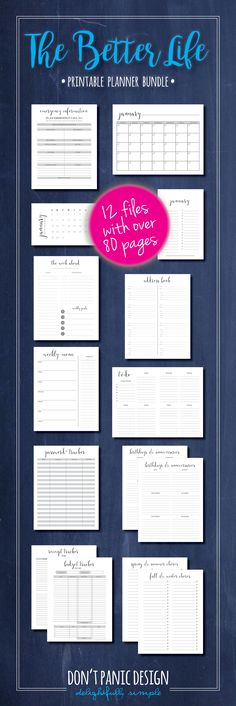 Financial Planner, Budgeting Planner, Budget Printable, Budget - simple budget