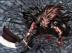 The End of Bleach World? xD Battle Kenpachi Zaraki & Yachiru (BANKAI) vs Sternritter Letter M - The Miracle Ger. Manga Anime, Raw Manga, Anime Art, Manga Bleach, Bleach Fanart, Epic Characters, Bleach Characters, Read Free Manga, Manga To Read