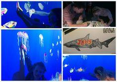#Melbourne Aquarium & the new Art Aquarium experience