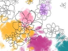 Floral  Art - Floral illustration Design - Floral Pattern - Flower Design - Floral Background  1600*1200   Wallpaper 6