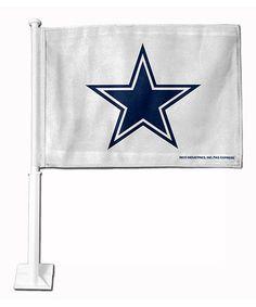 Loving this Dallas Cowboys Car Flag on #zulily! #zulilyfinds