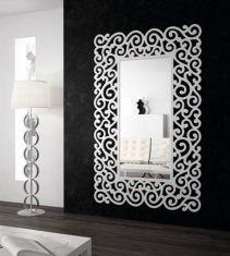 Grand miroirs: modèle SANDRA (blanc)