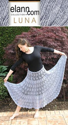 This skirt has a feminine picot cast on edge, and a matching picot bind off. Ribbon was used to tie the waist, and beads in a complimentary color complete the look. The skirt is knitted in a circle, based on the Pi formula by Elizabeth Zimmermann. Lace Knitting, Knitting Patterns Free, Free Pattern, Crochet Skirts, Crochet Clothes, Homemade Gifts, Diy Gifts, Do It Yourself Inspiration, Crafty Craft